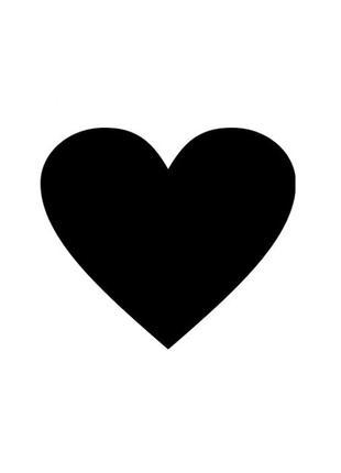 Меловая доска в форме сердца, грифельная доска, доска для мела
