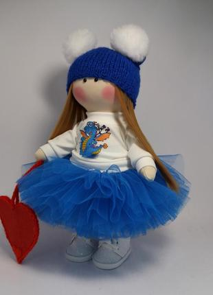 Кукла интерьерная ручная работа.