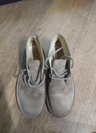 Дезерты нубуковые ботинки