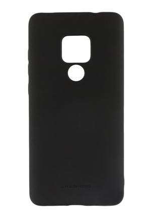Силиконовый чехол для Huawei Mate 20 (HMA-L29), черный
