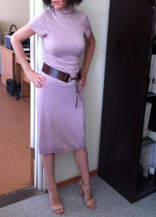 Платье розовое calliope