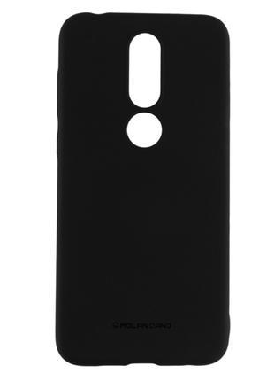 Силиконовый чехол для Nokia 6.1 Plus, черный