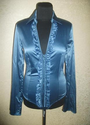 Боди стринги блуза шёлк р 42-44-46
