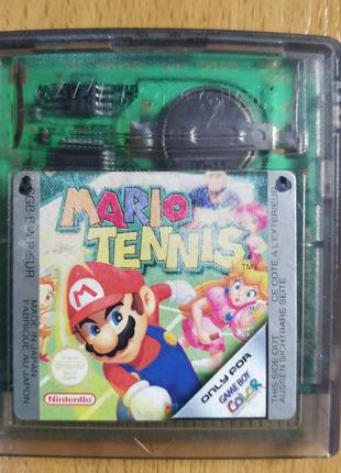 "Картридж NINTENDO Game Boy Color  ""Mario Tennis"""