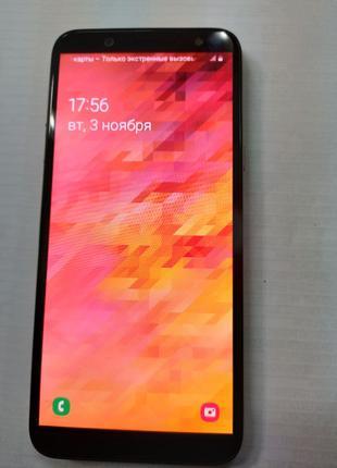Мобильный телефон Samsung Galaxy A6 3/32GB SM-A600FN/DS