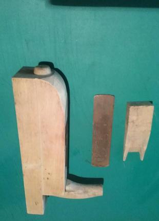 Рубанок плотницкий деревяный