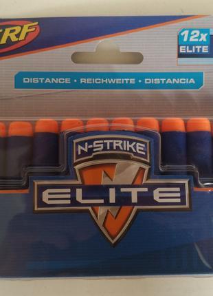 Оригинальные пули Нерф Nerf Elite N-Strike