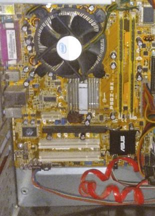 Материнская плата для ПК Asus P5GZ-MX Socket 775 + процессор