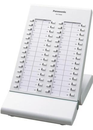 Цифровая системная консоль Panasonic KX-T7640X (цвет белый)