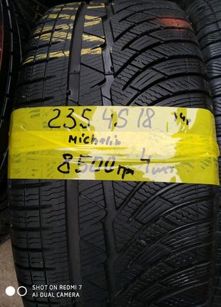 Шини Michelin 235/45/18 7,5мм 4шт.