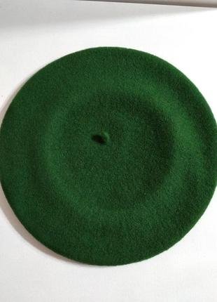Берет фетровый чешской фирмы tonak и fezko. зеленый-м