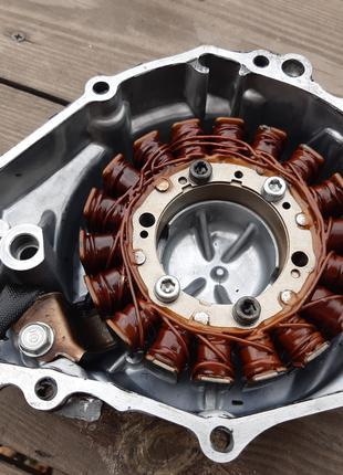 Генератор Honda cbr 900 919 sc 33 Статор Ротор Крышка левая двиг.