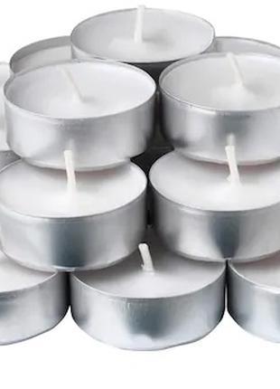 Свечи таблетки чайные IKEA ароматические 24 шт х 3,5 часа