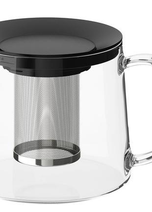 Чайник заварочный 1,5 л IKEA стеклянный заварник
