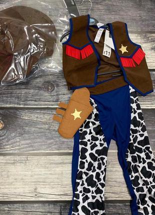 Новогодний костюм george ковбой 3-4 года