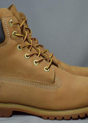 Timberland classic 6-inch premium waterproof ботинки кожаные д...