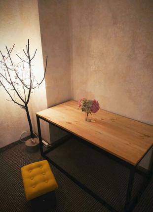 Стіл в стилі Лофт, стол в стиле Лофт