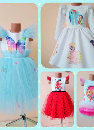 Пошив детям нарядные платья