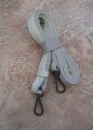 Новый плечевой ремень для сумки, комбинация кожи и канваса