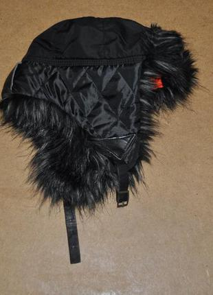 River island крутая мужская шапка зима