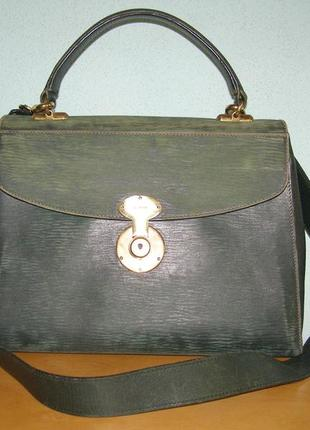Винтаж!! кожаная сумка goldpfeil handmade in germany