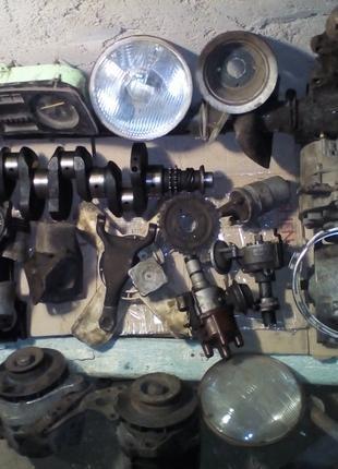 Москич 2140 412 коленвал рулевое приборка шатун фара поршень шкив