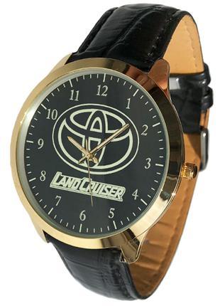 Часы наручные мужские автомобиль Тойота, Toyota Land Cruiser