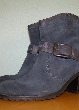 Демисезонные ботинки из натуральной кожи от edc by esprit 39 р.