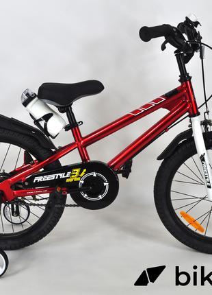 """Детский велосипед Royal Baby Freestyle 18"""" красный"""