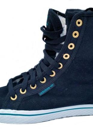 Ботинки на меху adidas made in vietnam 36 р.