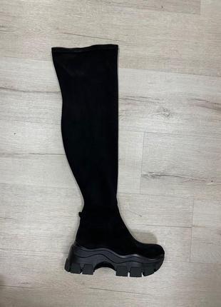 Lux обувь! ботфорты чулки женские