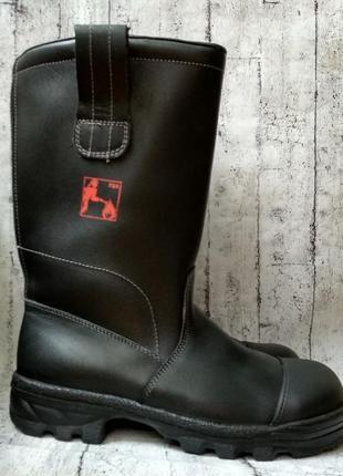 Высокие кожаные ботинки baltes naturalline made in germany 42 р.