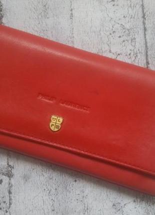 Кошелек/портмоне кожаный philip laurence