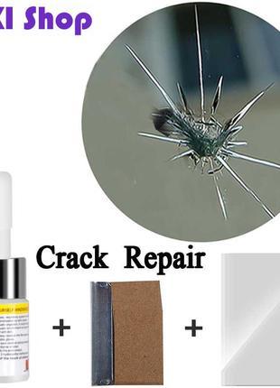 Полимер-клей для ремонта лобового стекла,трещины сколы,быстрый ре