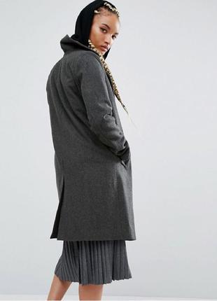 Пальто пулбир pull&bear