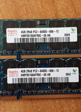 SODIMM DDR2 Hynix 4Gb PC2-6400S