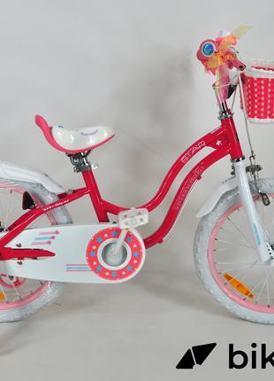 """Детский велосипед Royal Baby Star Girl 18"""" розовый"""