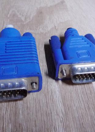 Два VGA коннектора.