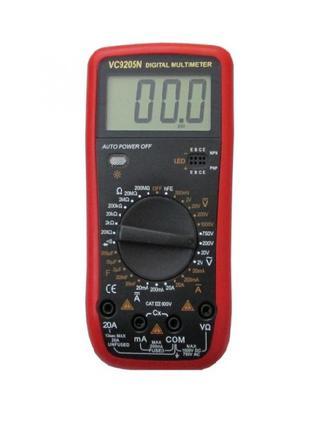 Цифровой Мультиметр Тестер VC 9205N
