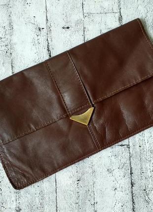 Кожаная сумочка/клатч