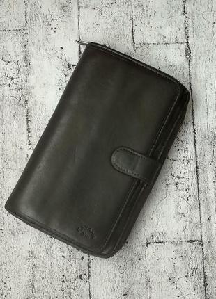 Кожаный кошелек/портмоне katana