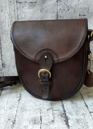 Кожаная сумочка lewington & moon hand made in england