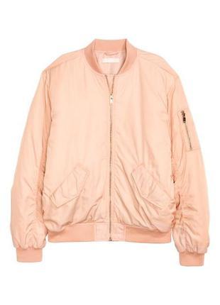 Куртки бомберы женские h&m