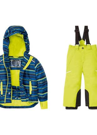 Комбинезон crivit р. 98-116 германия, термо, лыжный костюм, ме...