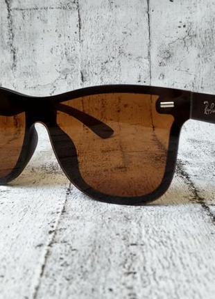 Солнцезащитные очки ray ban, матовая оправа