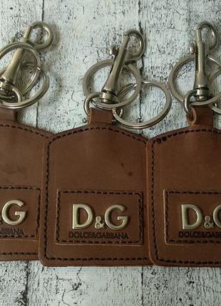 Кожаный брелок для ключей, сумки dolce gabbana
