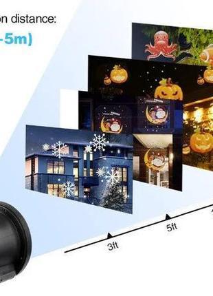 Лазерный проектор Star Shower projection outdoor light halloween