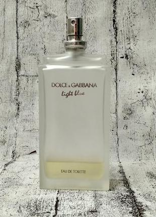 Dolce & gabbana light blue туалетная вода 100 ml made in germany