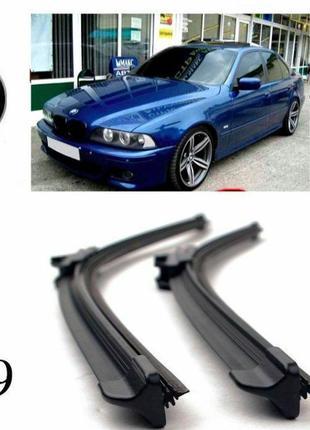 BMW E39 Щетки бескаркасные дворники стеклоочистители бмв 5 е39...