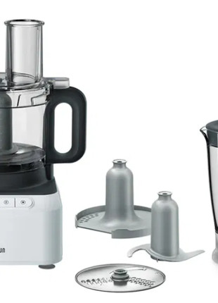Кухонний комбайн Braun PureEase FP 3131 WH, 800Вт